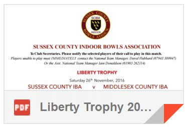 SCIBA Liberty Trophy