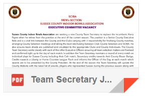 Team Secretary Job
